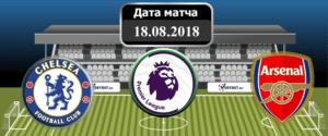 Челси – Арсенал 18 августа 2018 прогноз