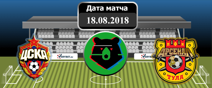 ЦСКА – Арсенал Тула 18 августа