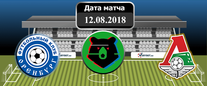 Оренбург – Локомотив 12 августа 2018 прогноз