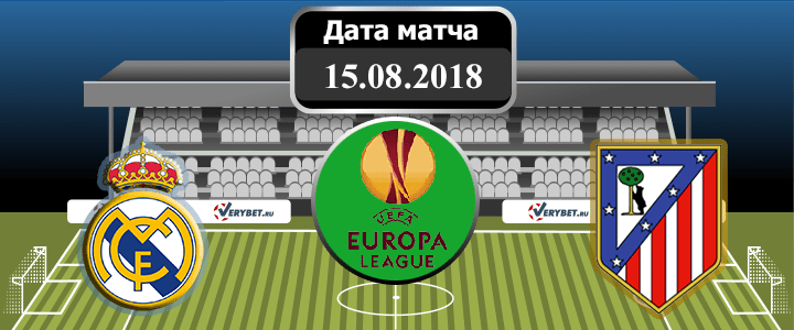 Реал Мадрид – Атлетико Мадрид 15 августа 2018 прогноз