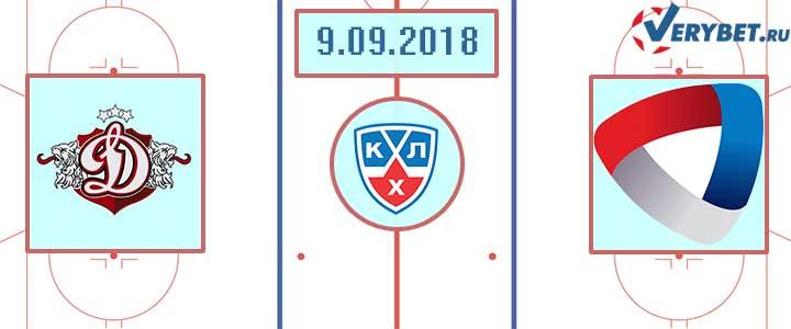 Динамо Рига – Северсталь 9 сентября 2018 прогноз