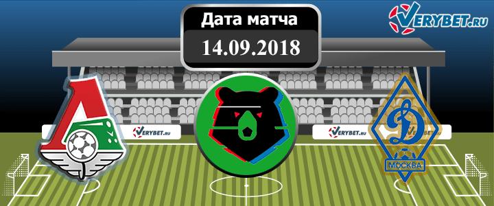 Локомотив – Динамо 14 сентября 2018 прогноз