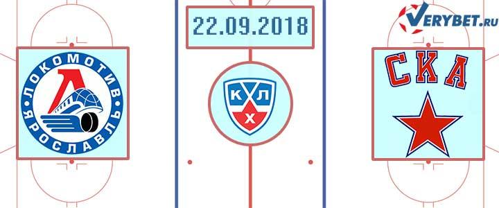 Локомотив – СКА 22 сентября 2018 прогноз