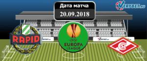 Рапид – Спартак 20 сентября 2018 прогноз