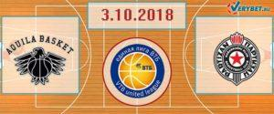 Тренто – Партизан 3 октября 2018 прогноз