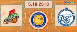 Локомотив-Кубань – Зенит 5 октября 2018 прогноз