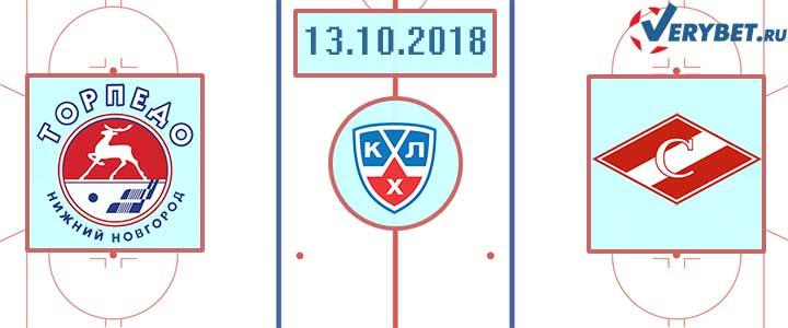 Торпедо – Спартак 13 октября 2018 прогноз