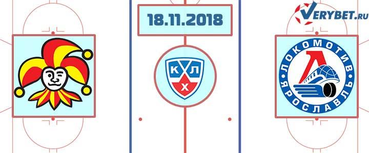 Йокерит – Локомотив 18 ноября 2018 прогноз