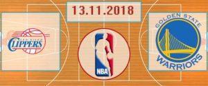 Лос-Анджелес Клипперс – Голден Стейт Уорриорз 13 ноября 2018 прогноз