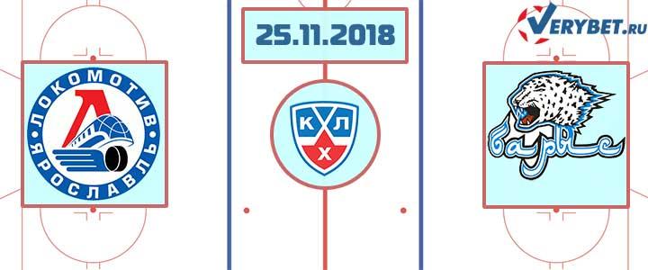 Локомотив – Барыс 25 ноября 2018 прогноз