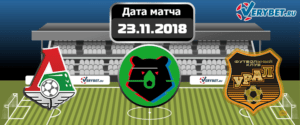 Локомотив – Урал 23 ноября 2018 прогноз