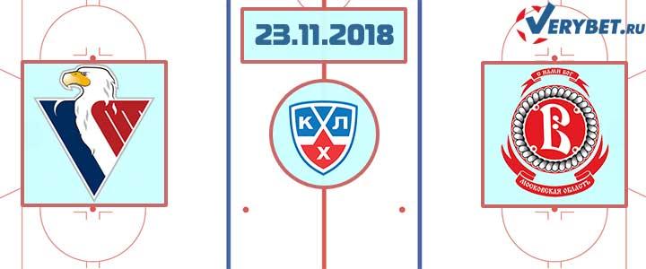 Слован Братислава – Витязь 24 ноября 2018 прогноз