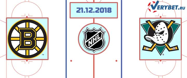 Бостон — Анахайм 21 декабря 2018 прогноз