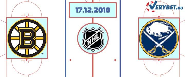 Бостон — Баффало 17 декабря 2018 прогноз