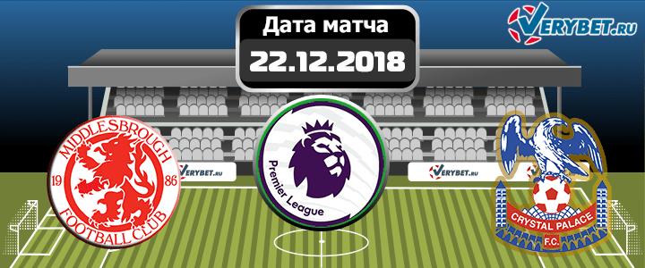 Манчестер Сити — Кристал Пэлас 22 декабря 2018 прогноз