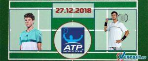 Тим - Хачанов 27 декабря 2018 прогноз