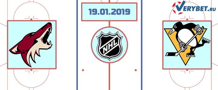 Аризона — Питтсбург 19 января 2019 прогноз