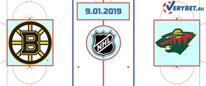 Бостон — Миннесота 9 января 2019 прогноз