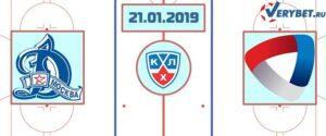 Динамо – Северсталь 21 января 2019 прогноз