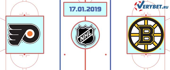 Филадельфия — Бостон 17 января 2019 прогноз