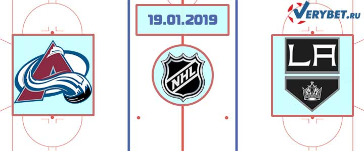 Колорадо — Лос-Анджелес 19 января 2019 прогноз