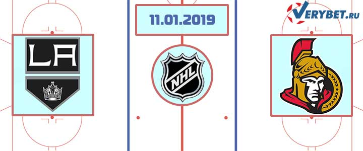 Лос-Анджелес — Оттава 11 января 2019 прогноз