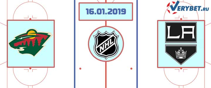 Миннесота — Лос-Анджелес 16 января 2019 прогноз