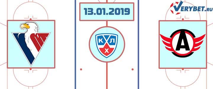 Слован – Автомобилист 13 января 2019 прогноз