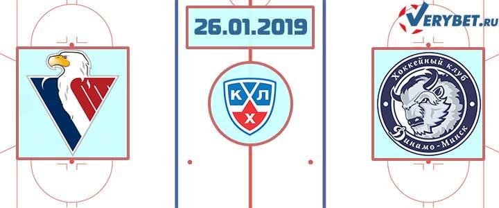 Слован — Динамо Минск 26 января 2019 прогноз
