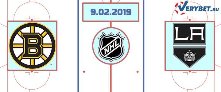 Бостон – Лос-Анджелес 9 февраля 2019 прогноз
