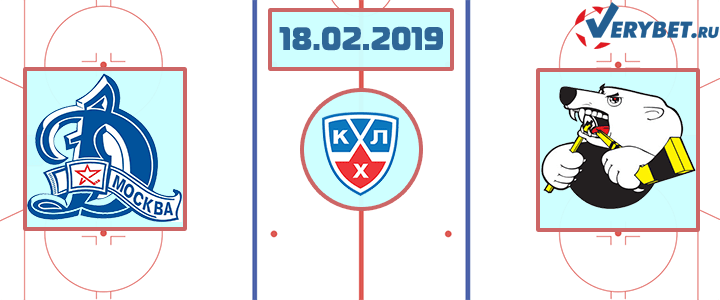 Динамо – Трактор 18 февраля 2019 прогноз