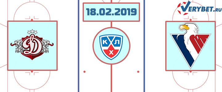 Динамо Рига — Слован Братислава 18 февраля 2019 прогноз