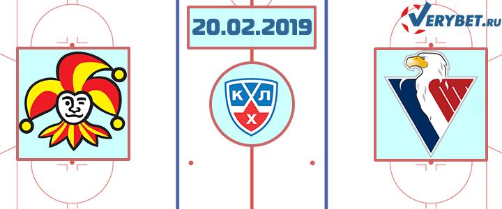 Йокерит – Слован Братислава 20 февраля 2019 прогноз