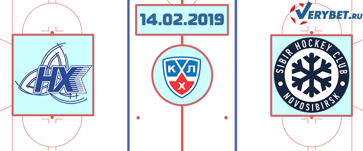 Нефтехимик - Сибирь 14 февраля 2019 прогноз