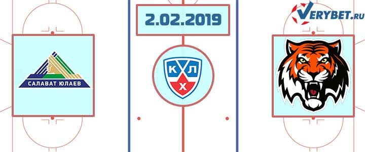 Салават Юлаев – Амур 2 февраля 2019 прогноз