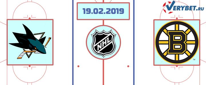 Сан-Хосе – Бостон 19 февраля 2019 прогноз