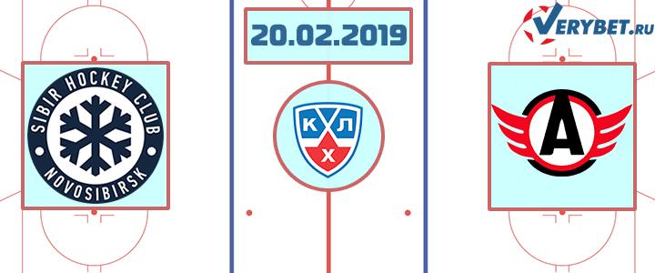 Сибирь — Автомобилист 20 февраля 2019 прогноз