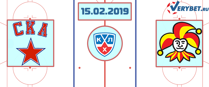 СКА — Йокерит 15 февраля 2019 прогноз
