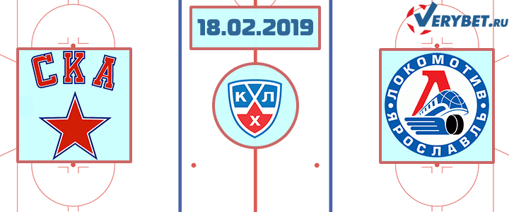 СКА – Локомотив 18 февраля 2019 прогноз