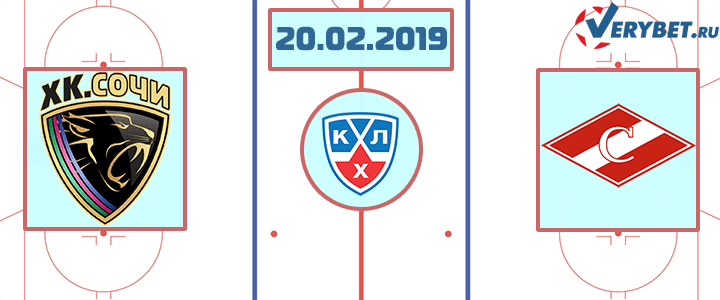 Сочи – Спартак 20 февраля 2019 прогноз