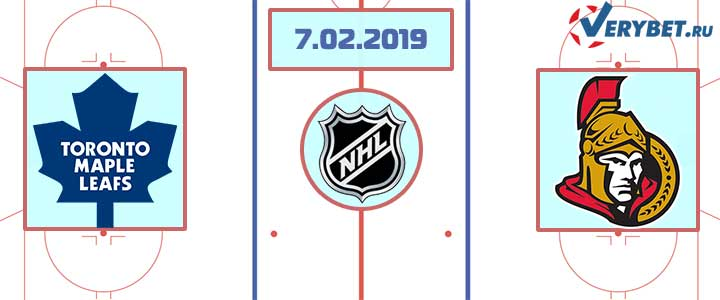 Торонто – Оттава 7 февраля 2019 прогноз