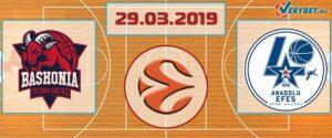 Баскония – Анадолу Эфес 29 марта 2019 прогноз
