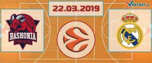 Баскония – Реал Мадрид 22 марта 2019 прогноз