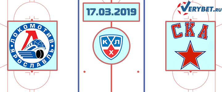 Локомотив – СКА 17 марта 2019 прогноз