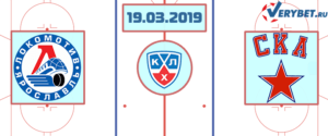 Локомотив – СКА 19 марта 2019 прогноз