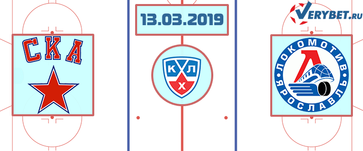 СКА – Локомотив 13 марта 2019 прогноз