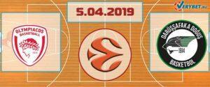 Олимпиакос – Дарюшшафака 5 апреля 2019 прогноз