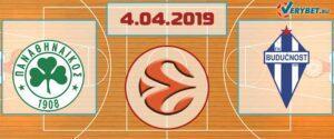 Панатинаикос – Будучность 4 апреля 2019 прогноз