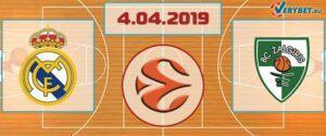 Реал Мадрид – Жальгирис 4 апреля 2019 прогноз