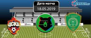 ЦСКА – Ахмат 18 мая 2019 прогноз